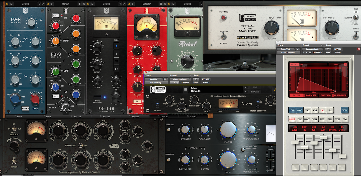 Slate Mix/Master/FX Bundle: Greatest Value | Ben Jackson Music